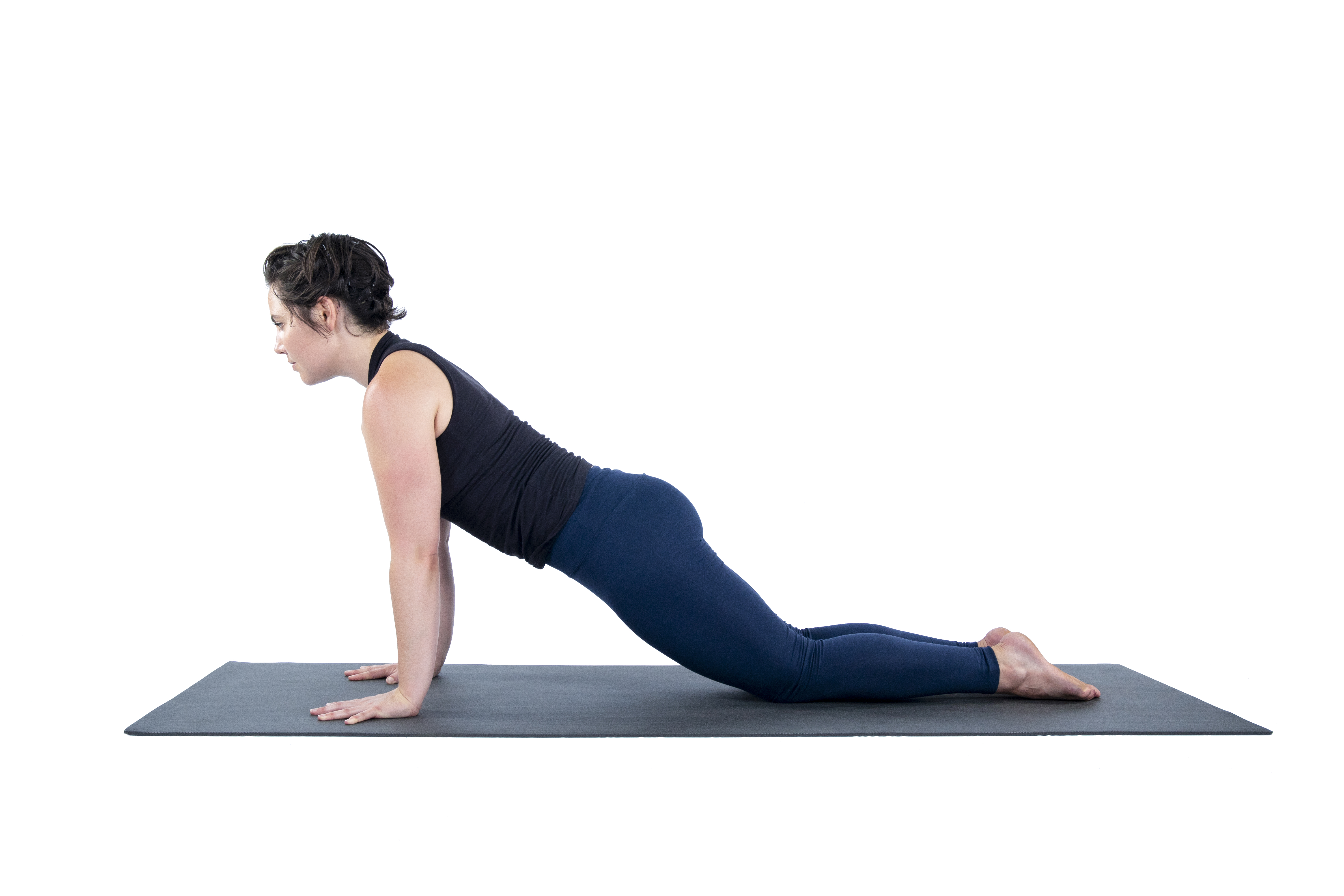 Phalakasana, Plank pose, core strengthening pose, arm strengthening pose, beginner's yoga, taking yoga practice outside,