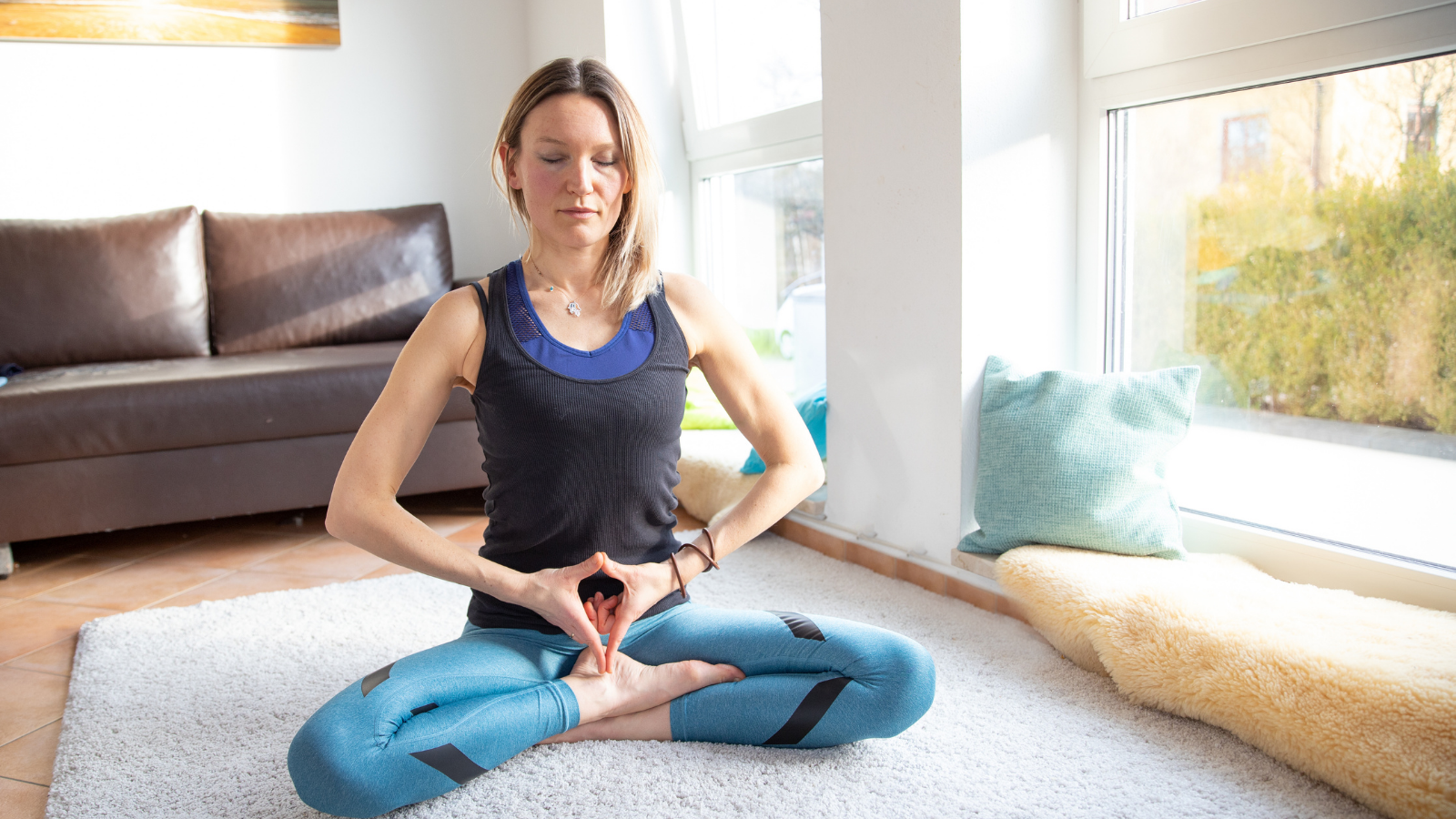 Yoni Mudra for quieting the mind and creating inner peace