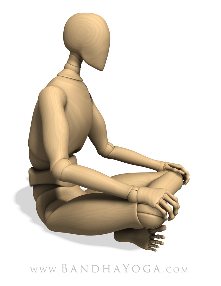 Sukhasana, easy Pose, seated pose, comfort and ease in the pose