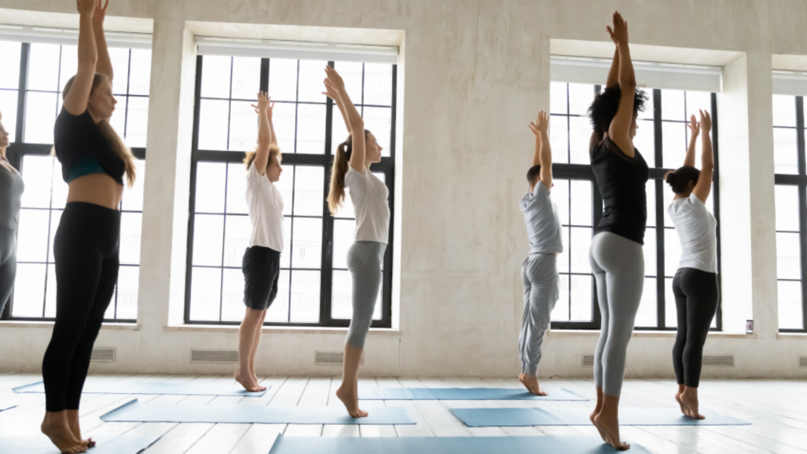 Healthy feet make for greater comfort and ease in yoga balance poses and other activities