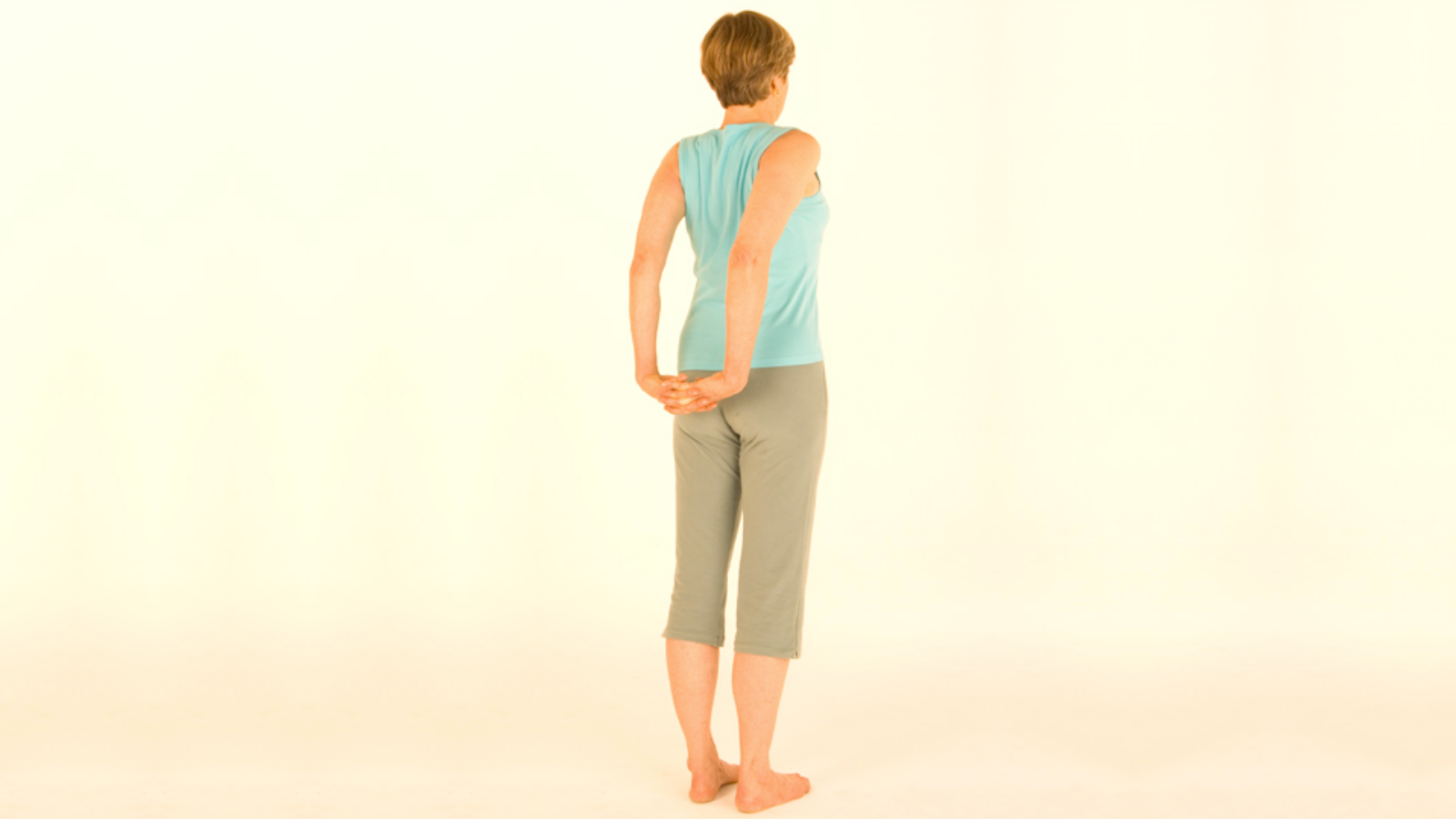 Shoulder exercise to increase mobility and release tension