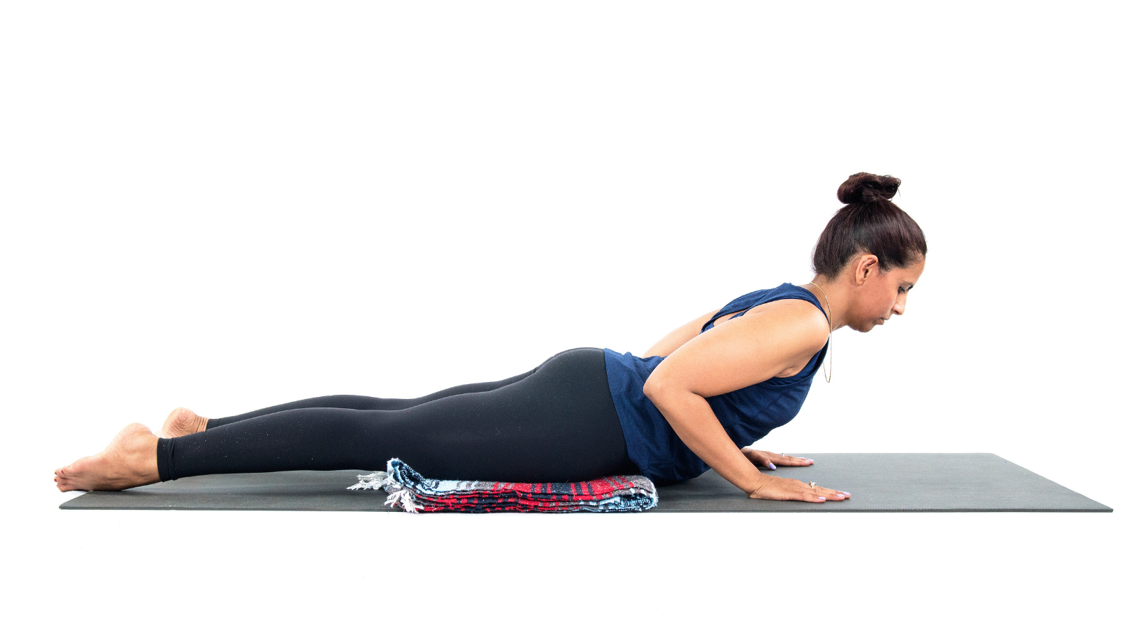Beginner tips to customize yoga poses in a safe way in Cobra Pose (Sanskrit name: Bhujangasana)
