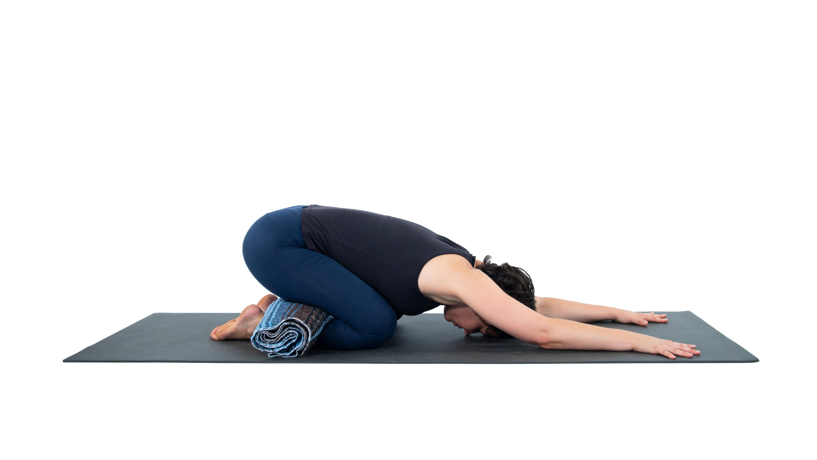 Child's Pose or Balasana is a grounding Vata and resting pose