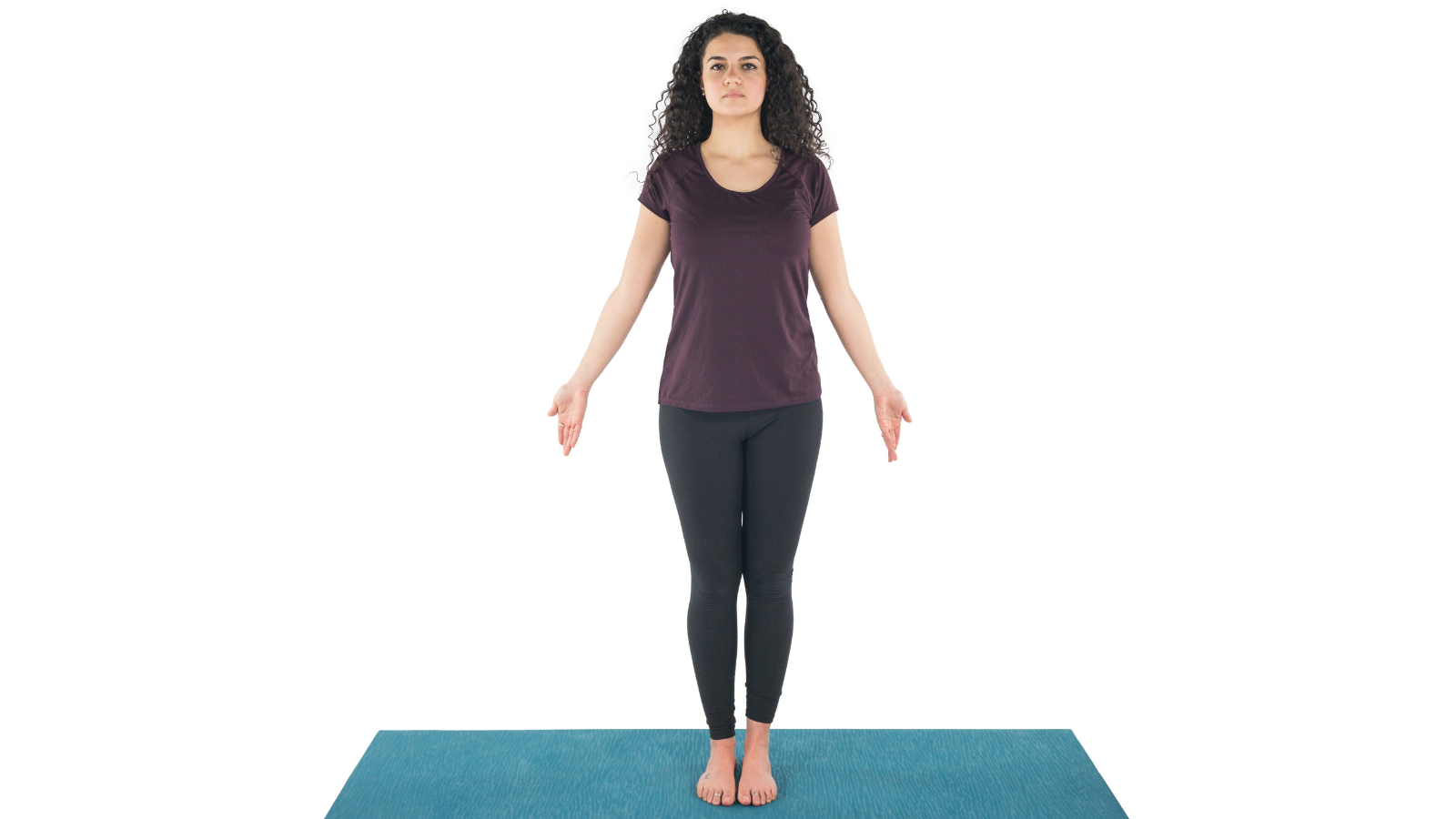 Tadasana or Mountain Pose and its positive effect on posture and spine health
