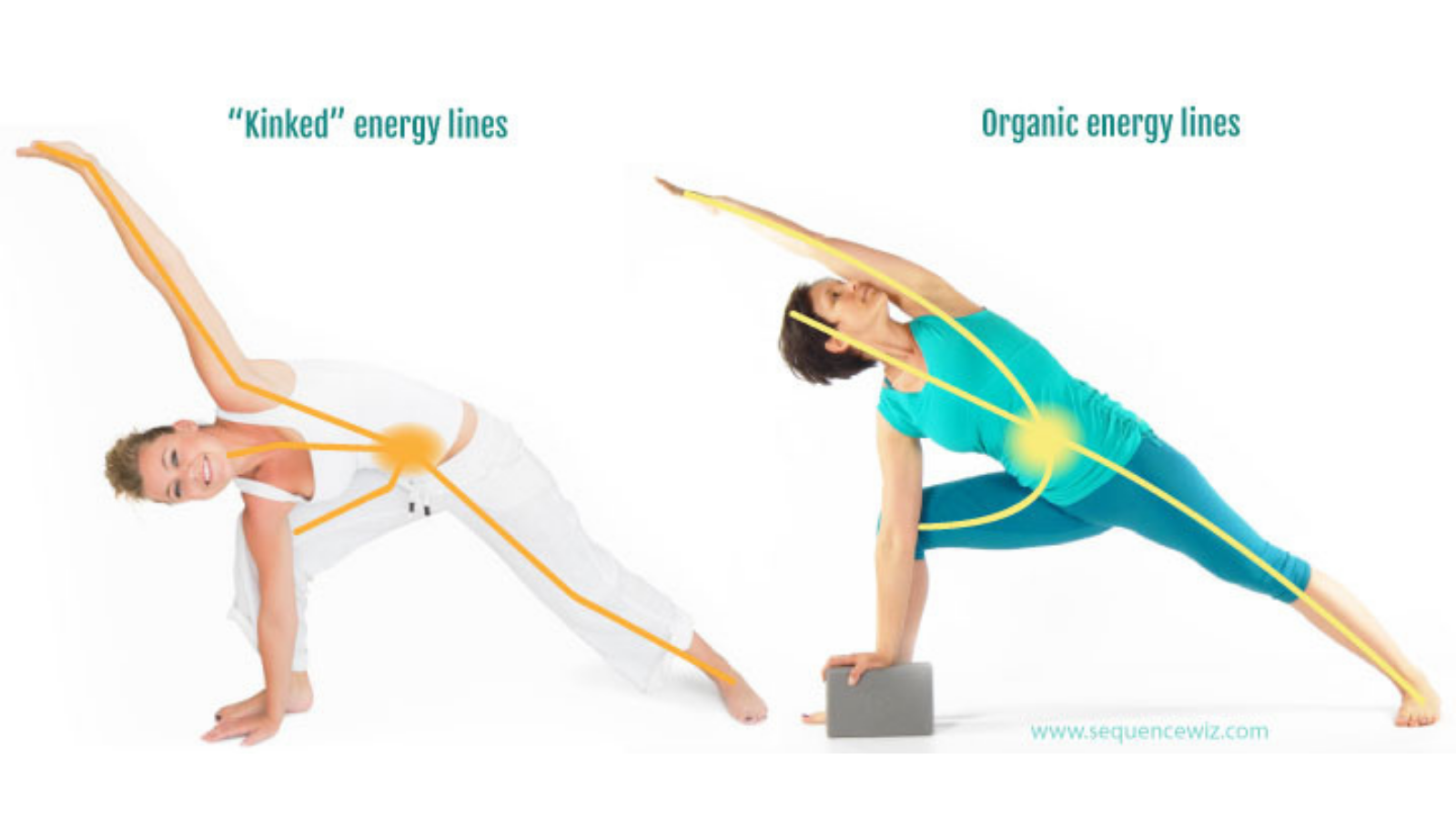 Yoga and energy lines and the flow of prana