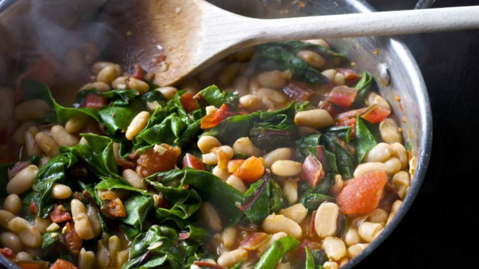 How to cook healthy and tasty chard and white bean ragout