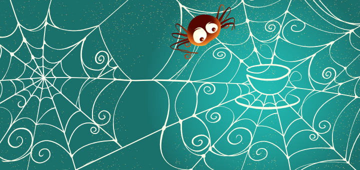 Spiders and caffeine,  effect of caffeine on work, sleep problems and caffeine