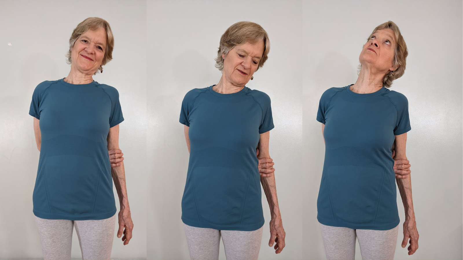 Shoulder exercise to release negative holding and movement problems