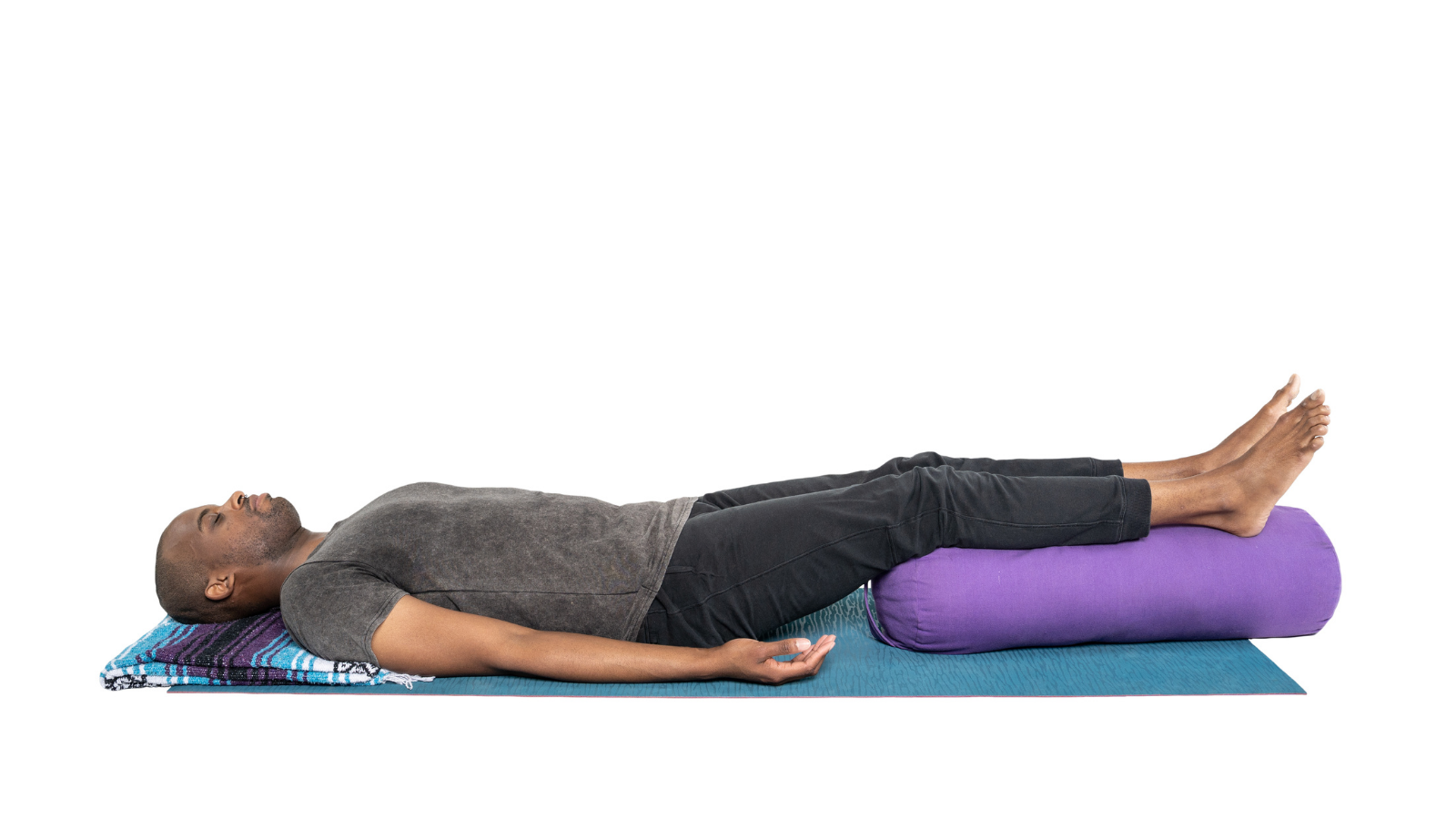 The benefits of practicing Simple Supported Savasana yoga Pose to downregulate the nervous system of those who suffer from rheumatoid arthritis