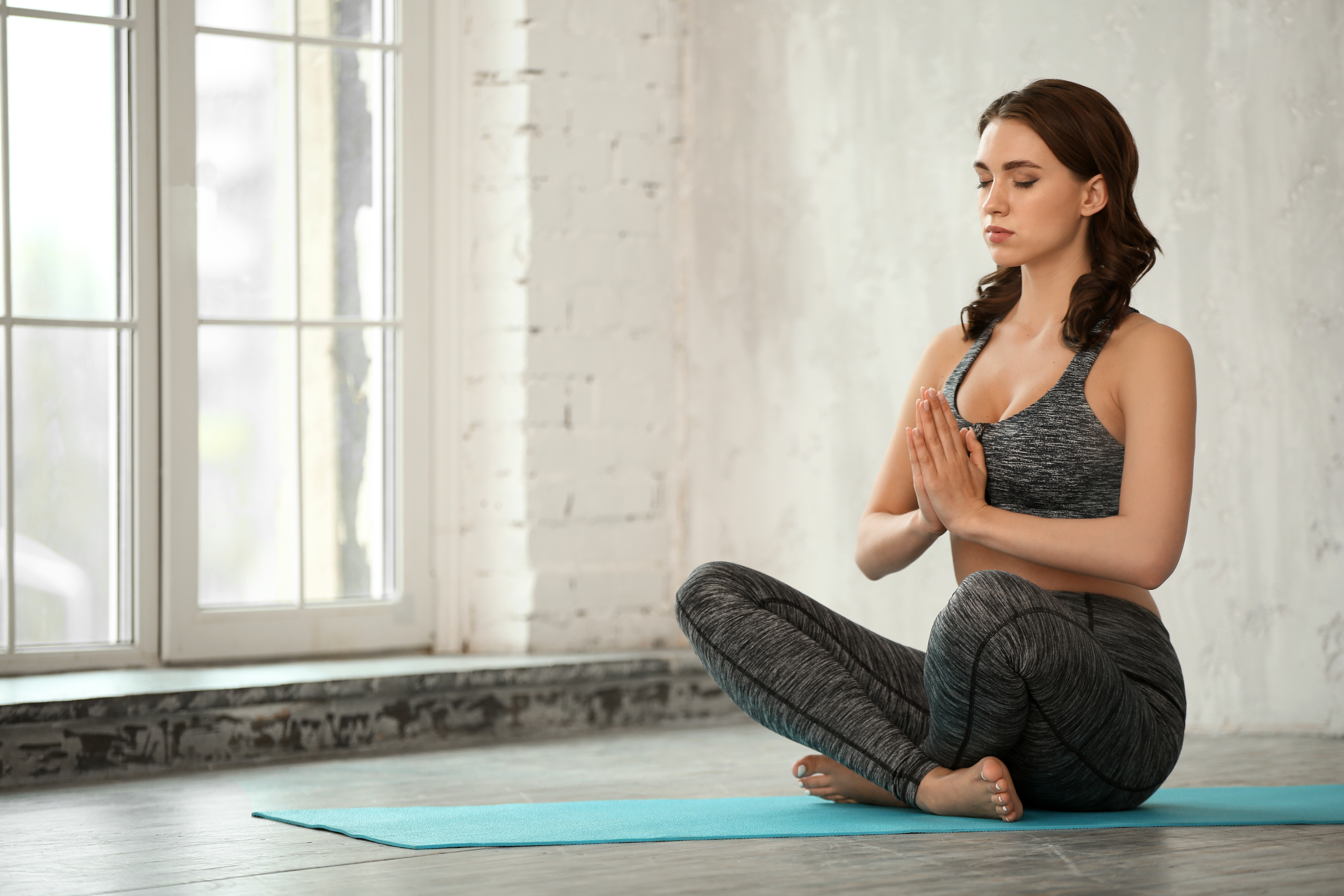 Yoga meditation, quiet time on the mat, silence, prayer, reflection