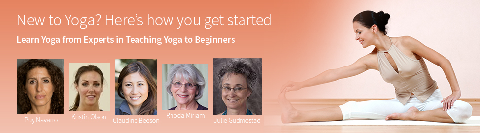 Beginners Yoga Studio Banner
