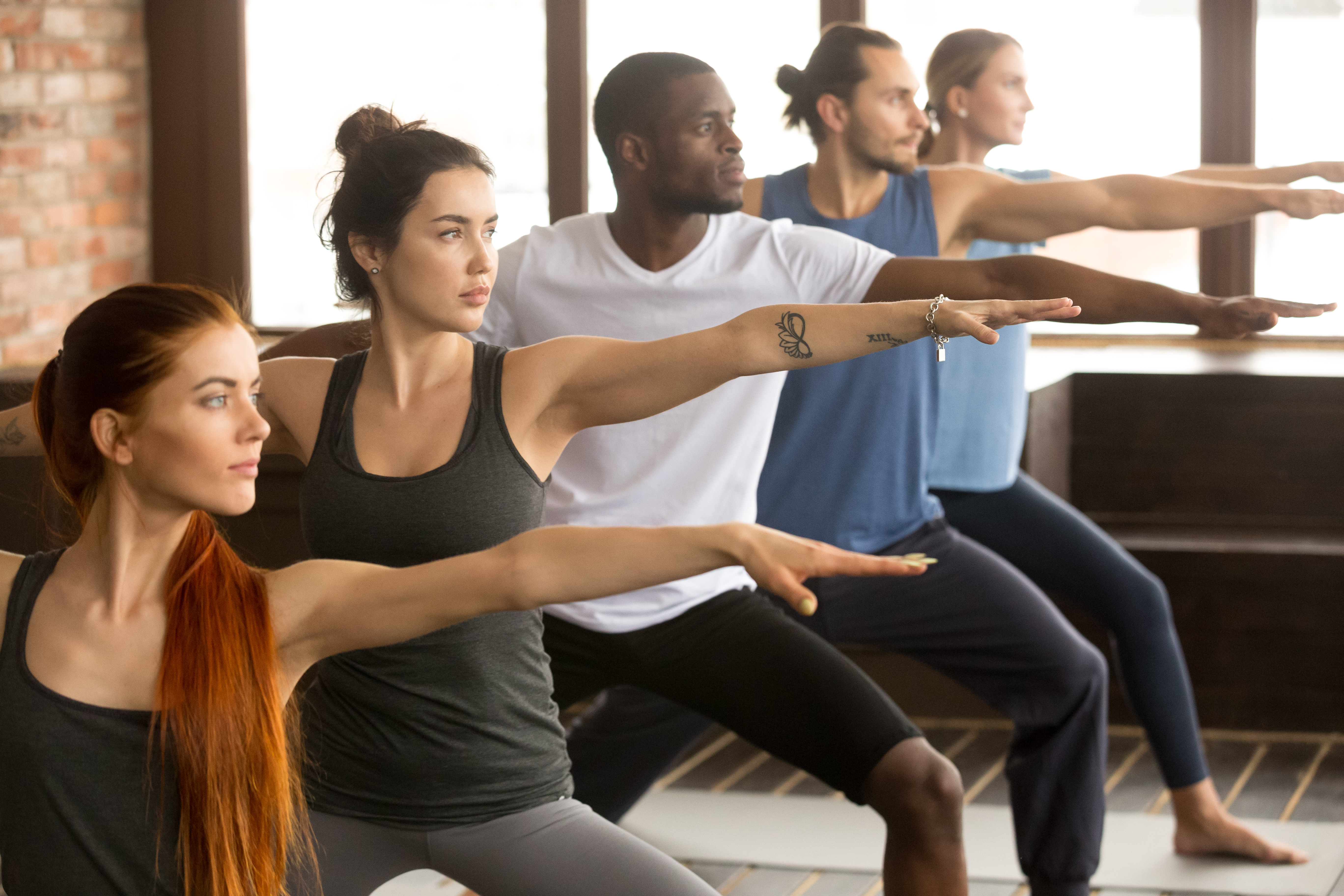 Diverse yoga class, yoga for everybody, community, start where you are