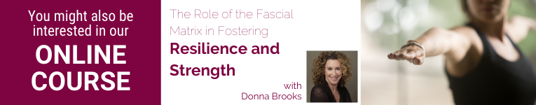 Online yoga course with Donna Brooks on the Fascial Matrix