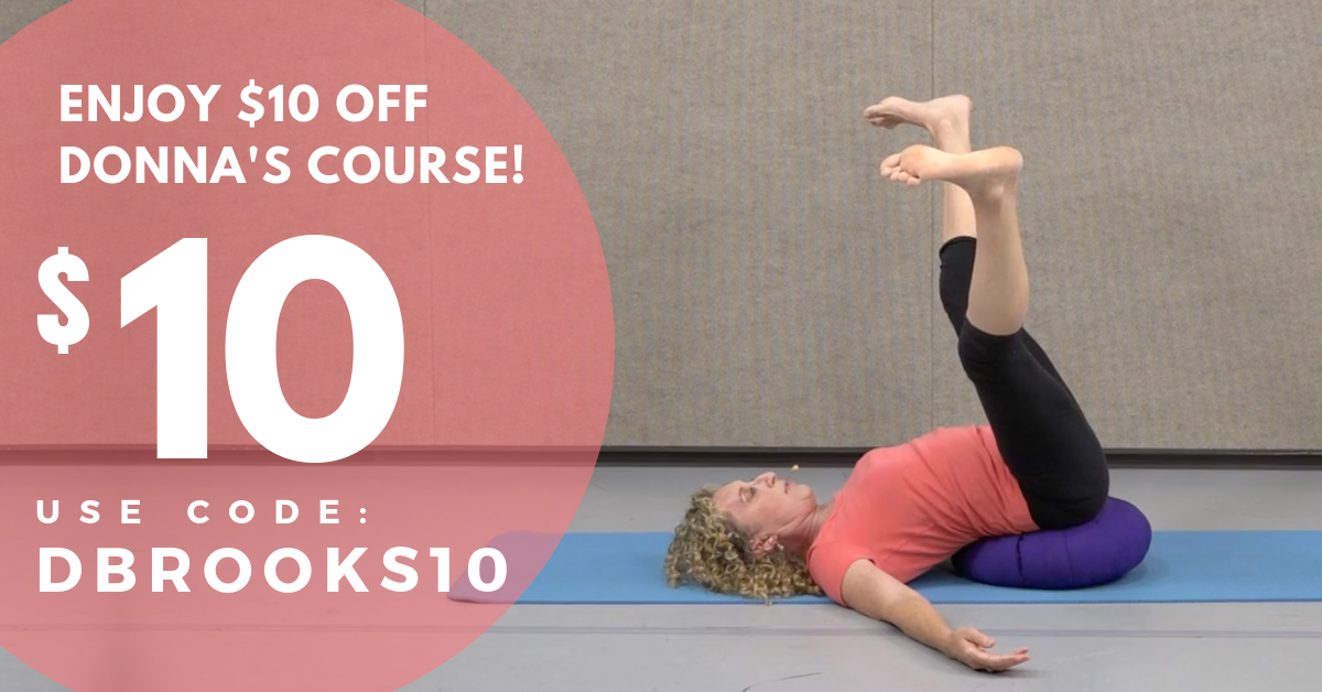 Online Yoga Course for Pelvic Floor Health with Donna Brooks Coupon
