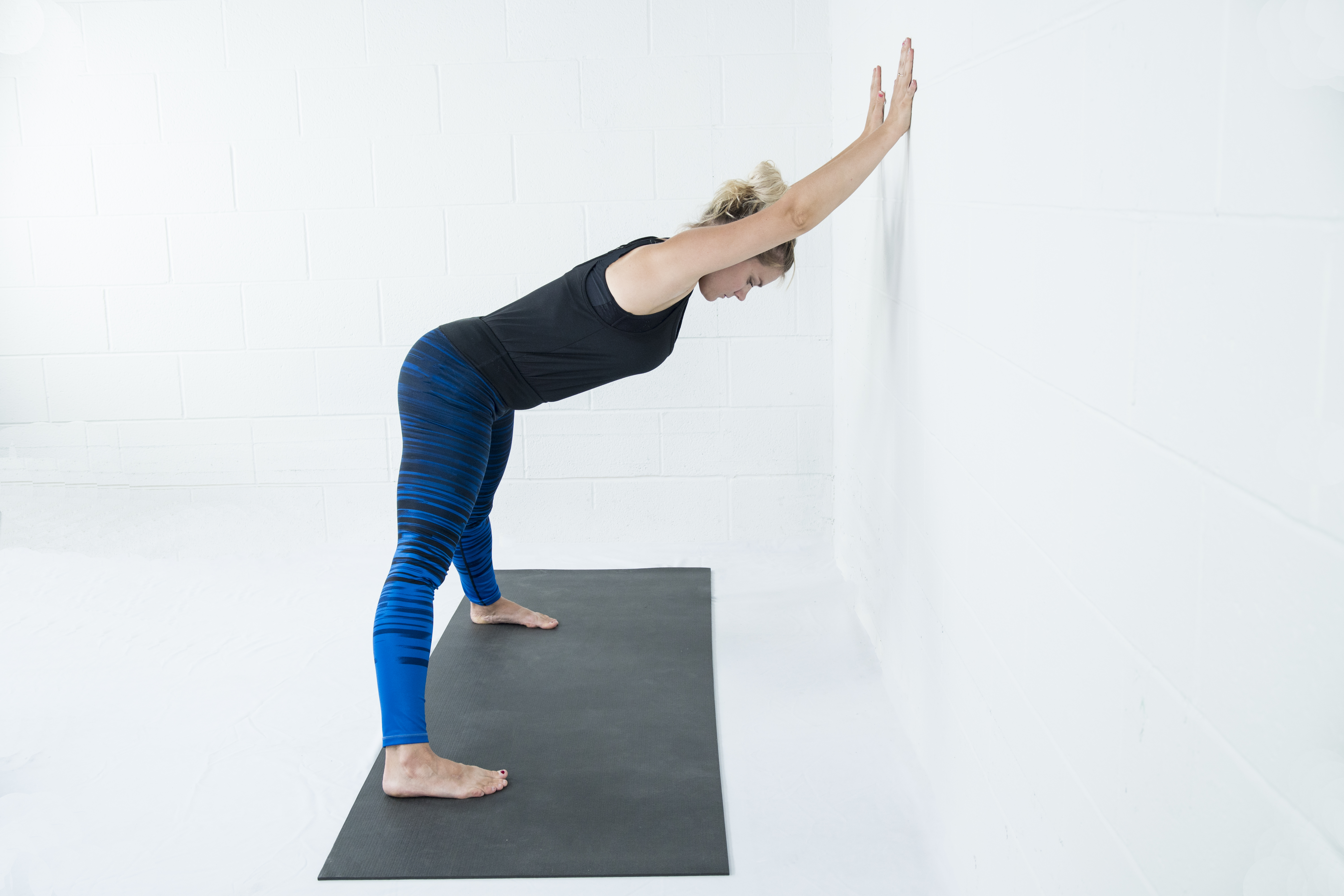 Downward Facing Dog With Props
