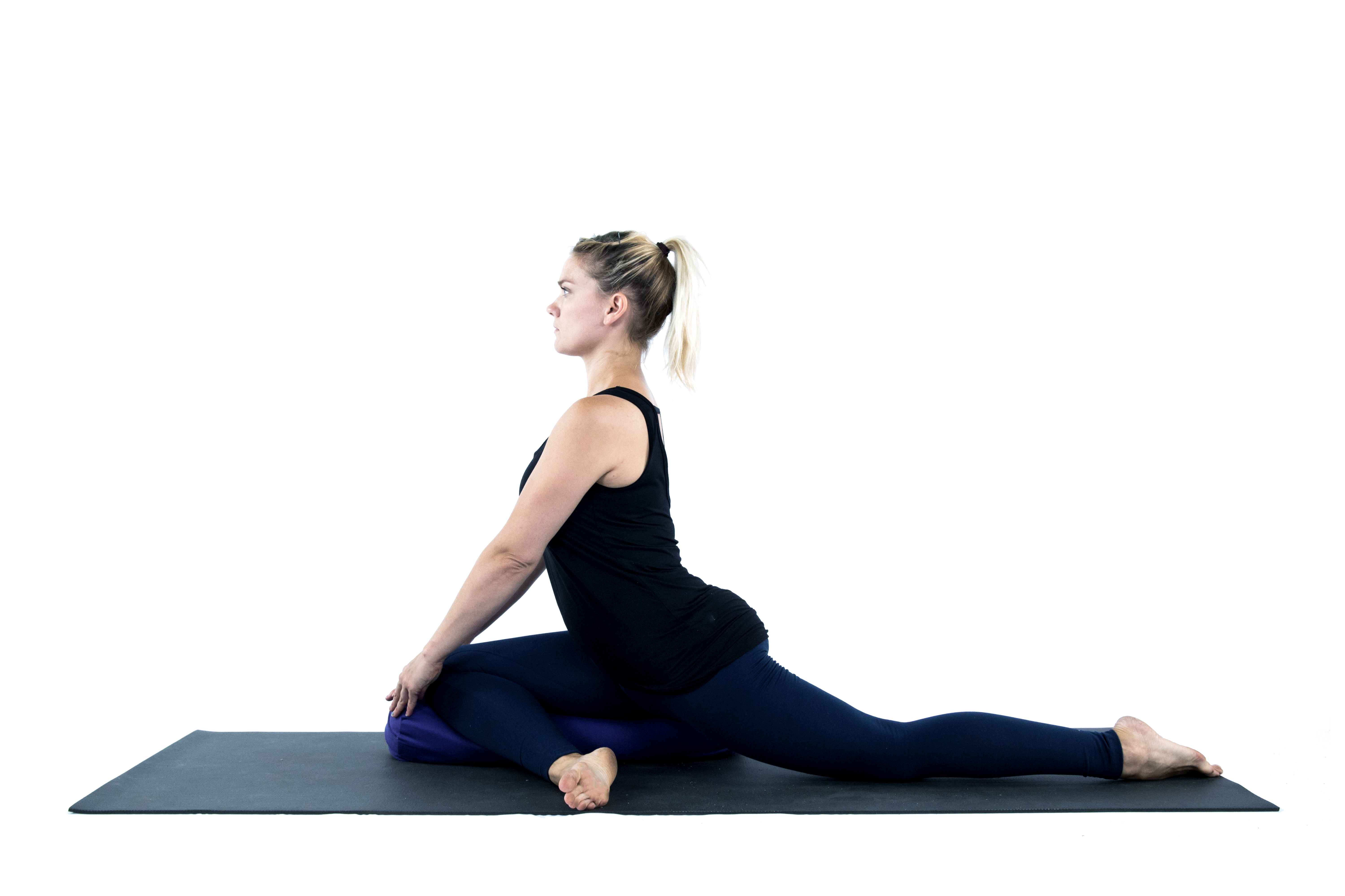 Kapotasana, Pigeon Pose, yoga with props, props for support, pigeon pose variations