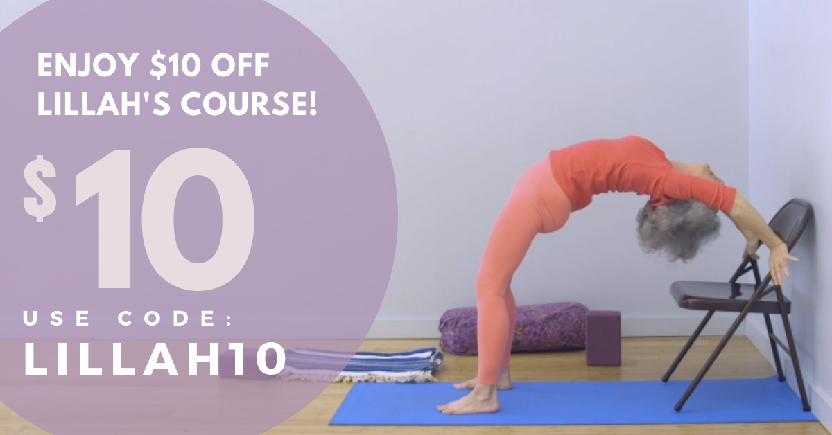Lillah Schwartz Yoga for Spinal Health Online Course $10 Coupon