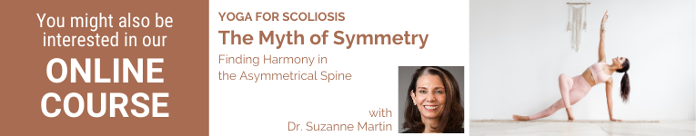Dr. Suzanne Martin, Dr. of Physical Therapy, YogaUOnline Presenter, Yoga for Scoliosis