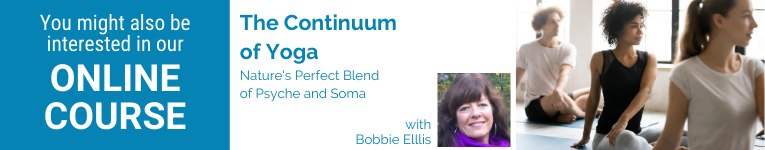 Bobbie Ellis, YogaUOnline teacher, Somatics and Yoga, Online YogaU courses