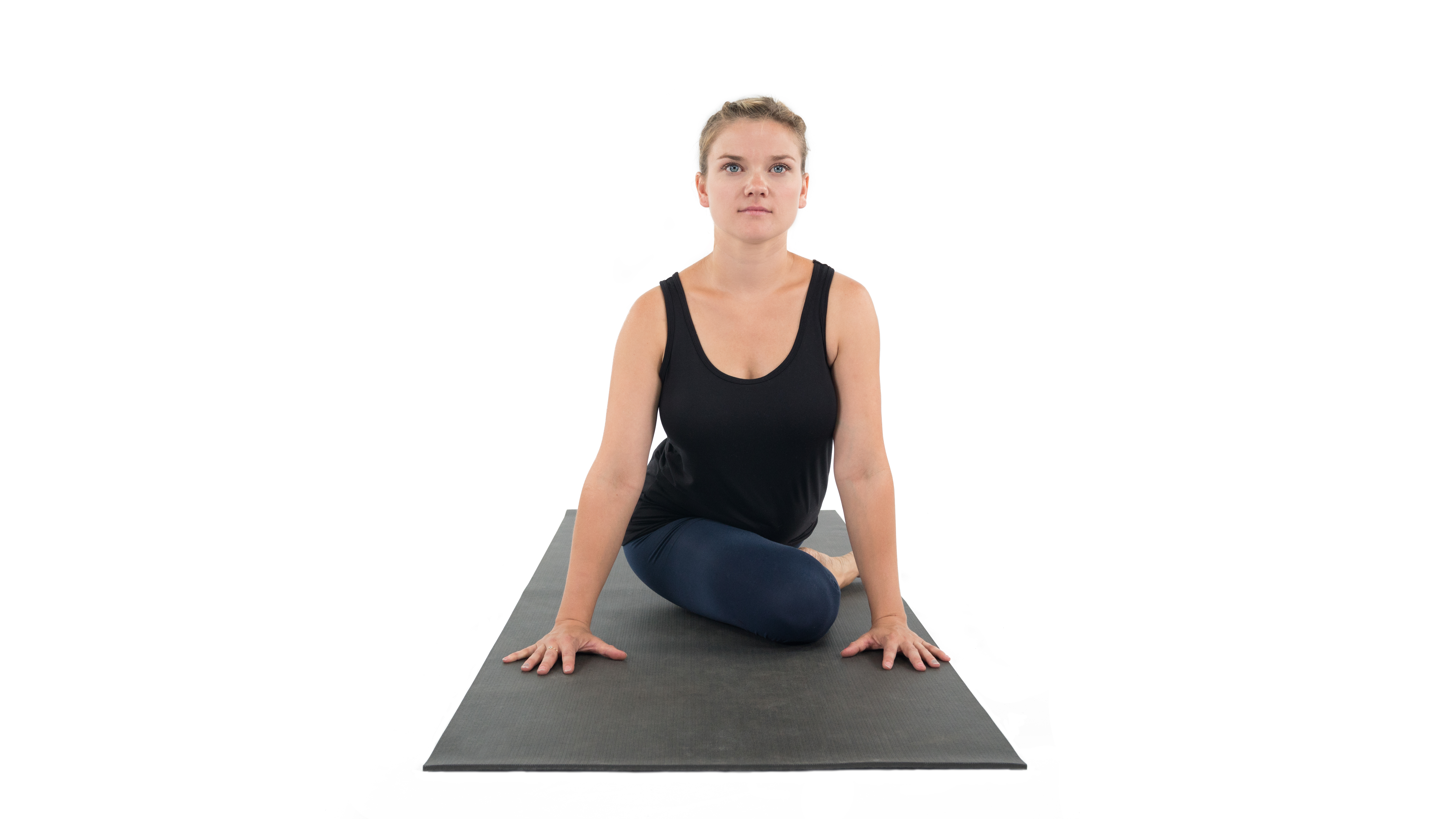 Kapotasana, Pigeon Pose, yoga with props, challenging pose, misalignment in pigeon pose