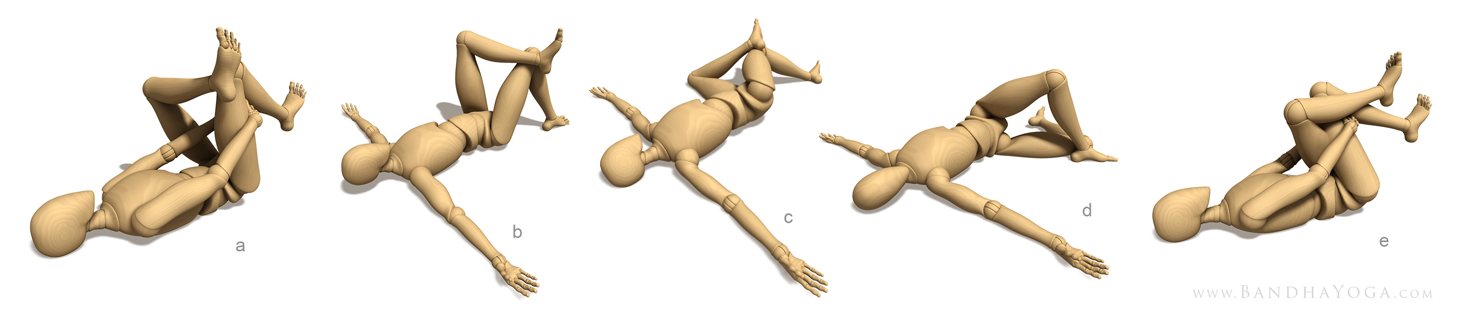 piriformis stretch variations