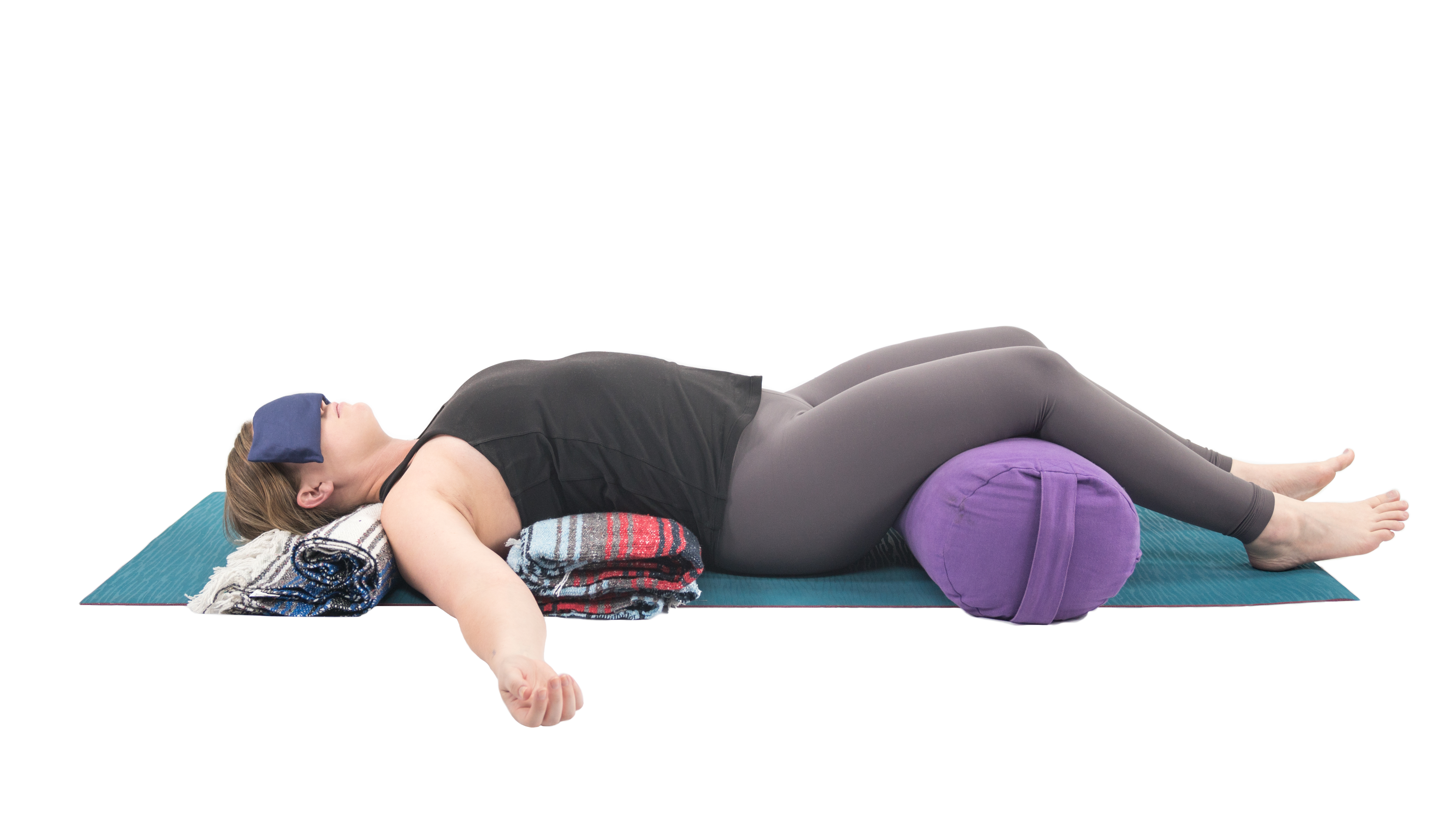 Restorative yoga, yoga with props, yoga for cancer, renew and restore