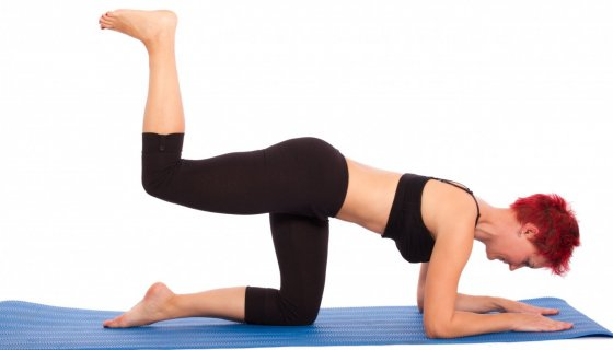 Core strength in yoga practice