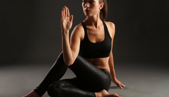 yoga for lymphatic health, Tias Little