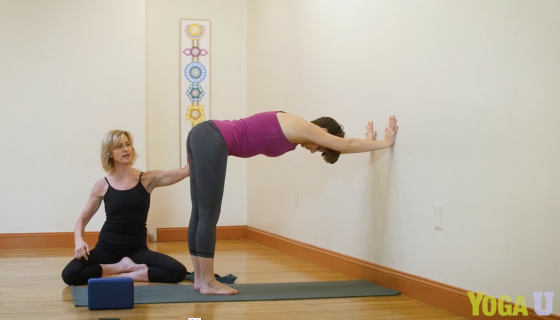 Teaching yoga to beginners - Downward Dog