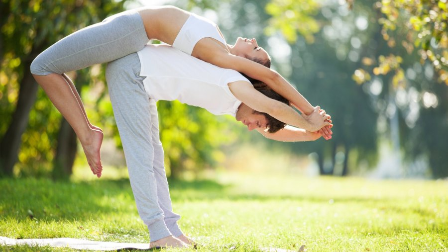 couple's yoga