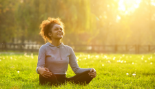 How to practice humming in a yoga practice for inner resonance