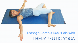 therapeutic yoga for back pain