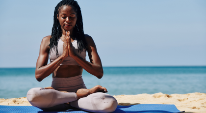 Yoga wellness tips to find your center and reclaim your joy