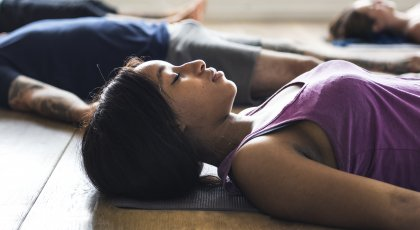 Interview with Dr. Gail Parker on Restorative yoga for race-based stress