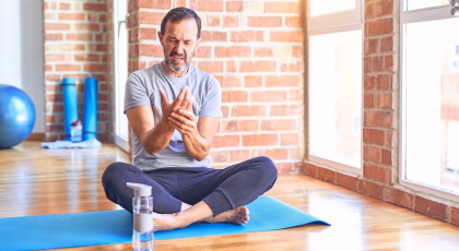 Wrist exercises for yoga practice and for daily life
