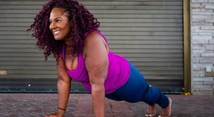 Accessible Yoga Plank Pose with Dianne Bondy