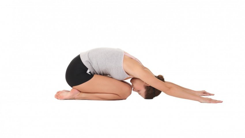 Balasana or the Child's Pose