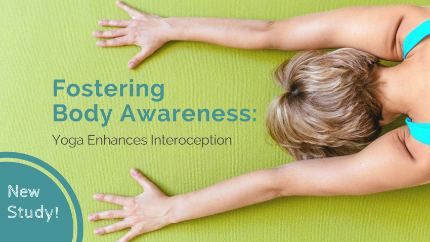 woman fostering body awareness, interoception, with yoga, child's pose, balasana