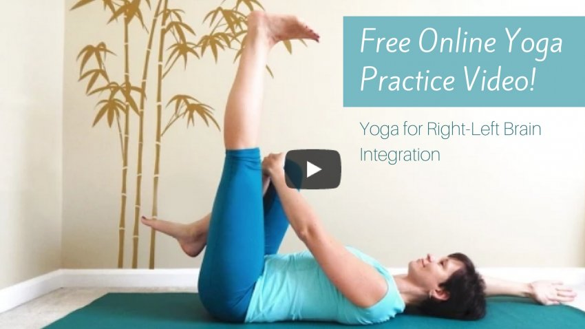 online yoga practice video