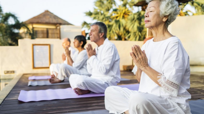 Major New Study Finds Restorative >> Can We Control How We Age Study Suggests Yoga Practice Can Help