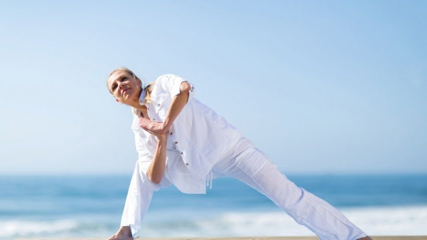Safe Yoga Postures for Osteoporosis