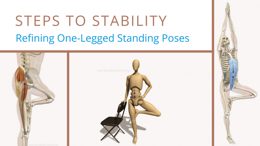 Steps To Stability Refining One Legged Standing Poses