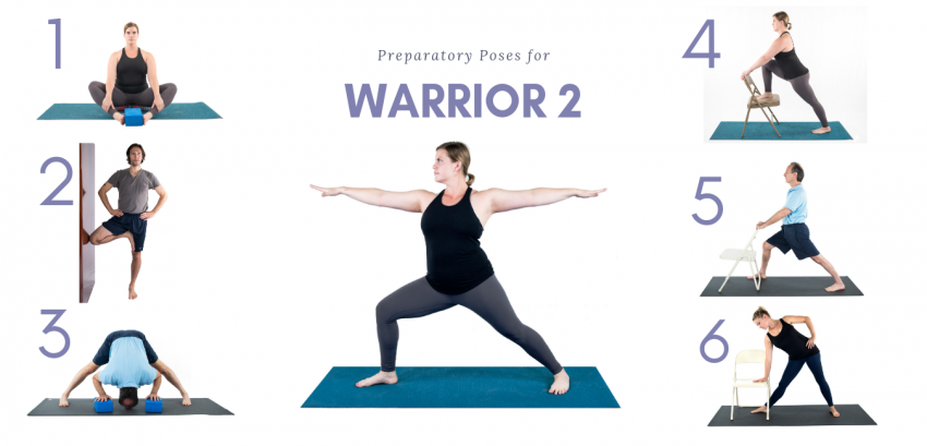 Beginner Yoga Series: How to Sequence for Warrior 2