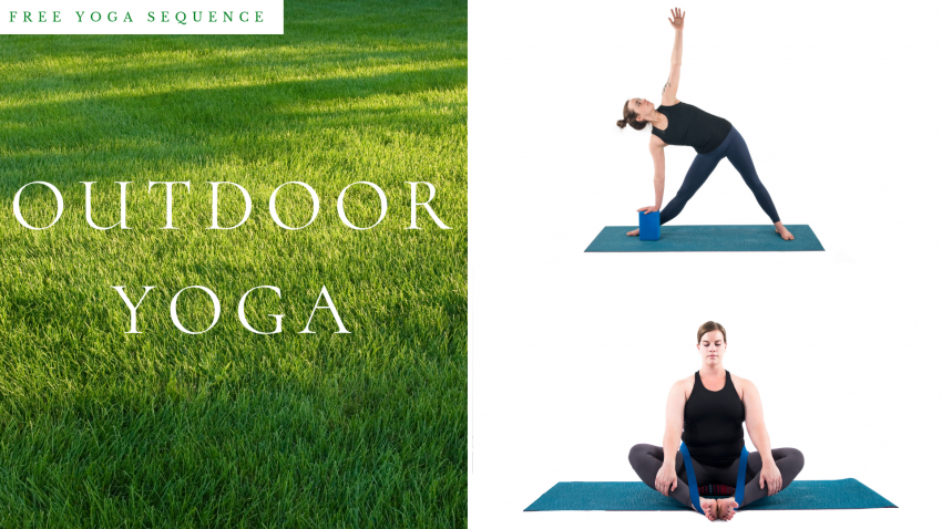 Free Yoga Sequence for outdoor yoga in warmer weather
