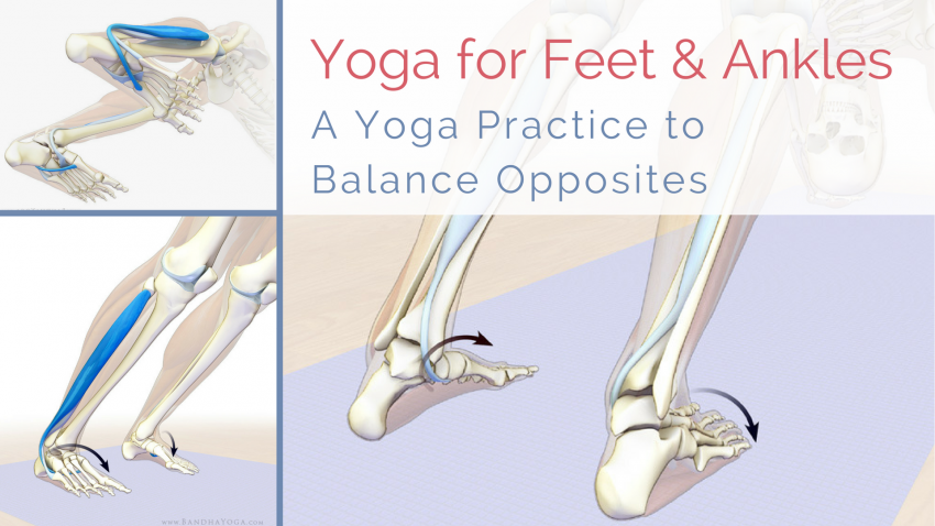Yoga for healthy ankles