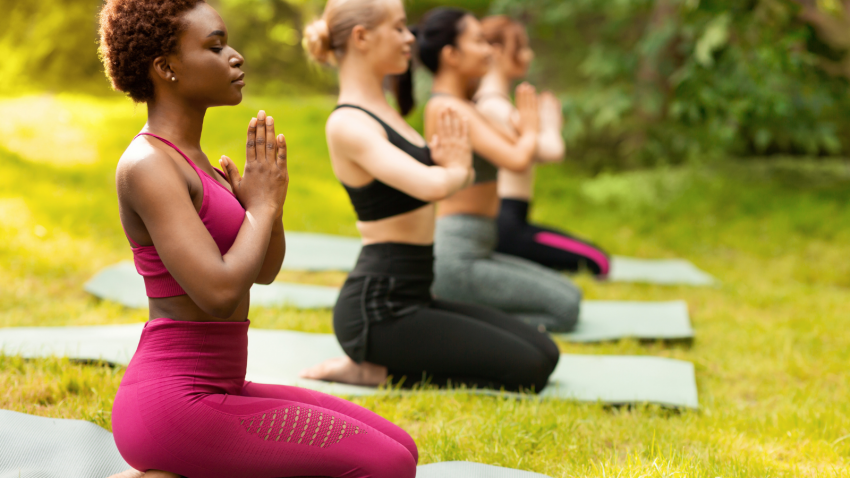 How to practice yogic breathing from the diaphragm