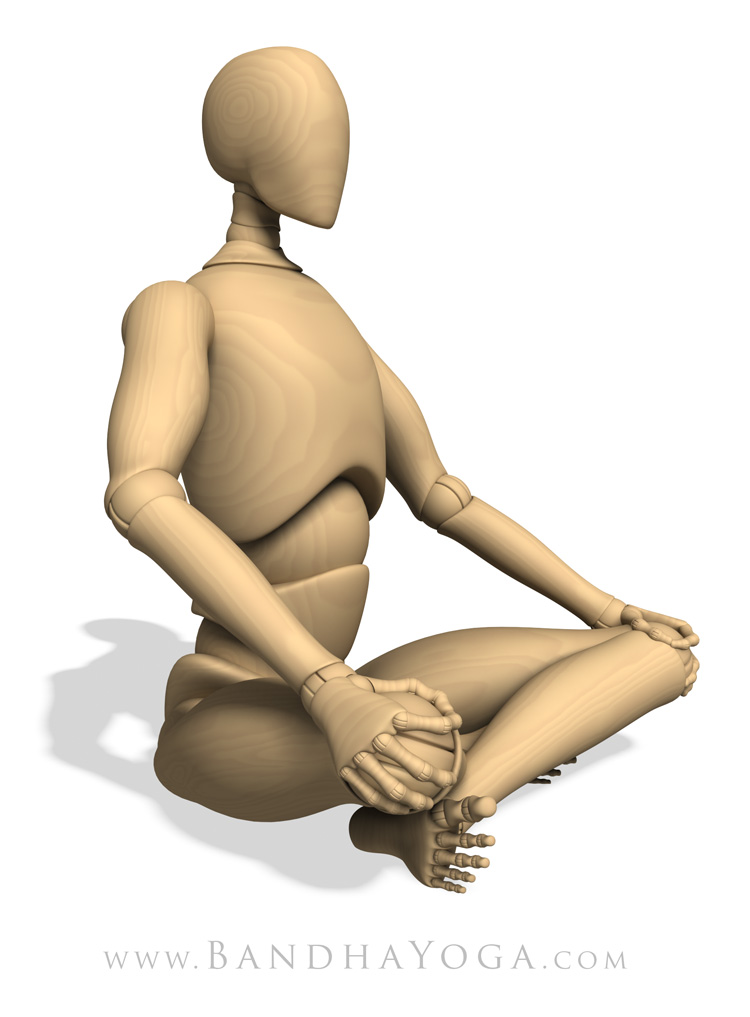 Sukhasana, easy pose, seated pose, comfort and ease in the pose, expanding the chest in Sukhasana