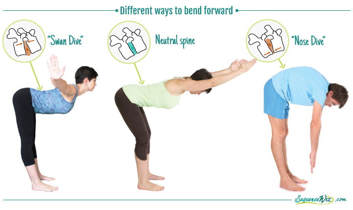 How To Bend Forward Without Stressing The Spine Yogauonline