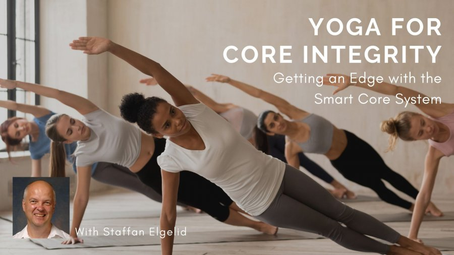 Yoga for core integrity, YogaUOnline course, teacher Staffan Elgelid, smart core in yoga