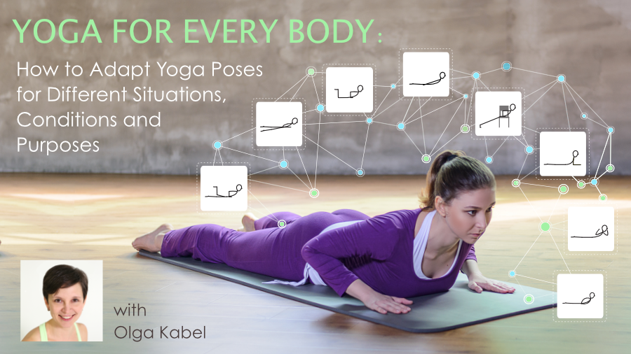 YogaUOnline course with Olga Kabel Yoga for Every Body